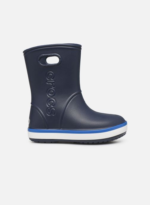 Boots & wellies Crocs Crocband Rain Boot K Blue back view