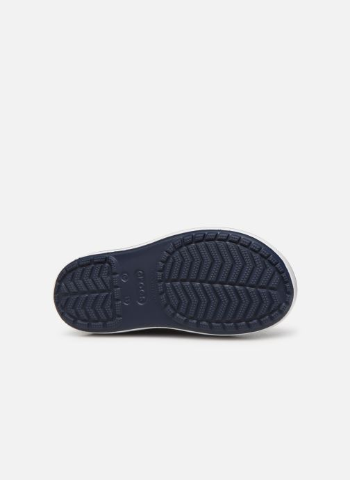 Stövlar & gummistövlar Crocs Crocband Rain Boot K Blå bild från ovan