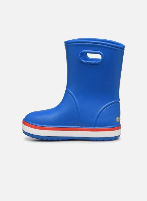 Bottes Crocs Crocband Rain Boot K Bleu vue face