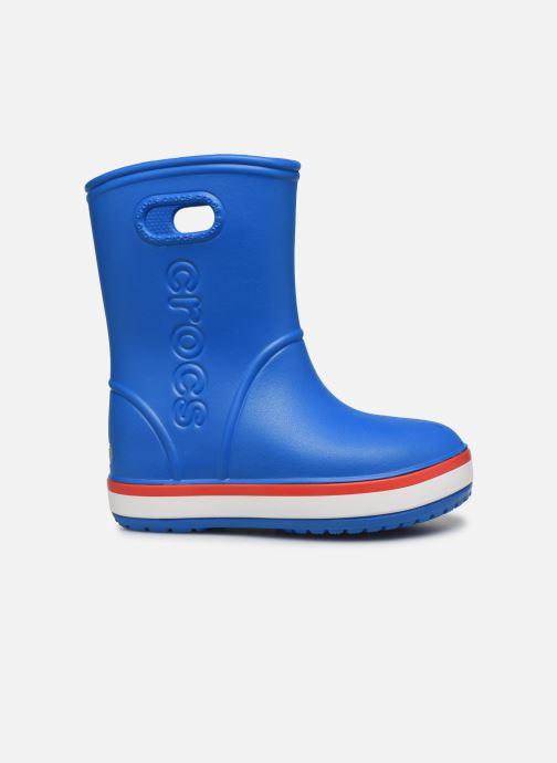 Bottes Crocs Crocband Rain Boot K Bleu vue derrière