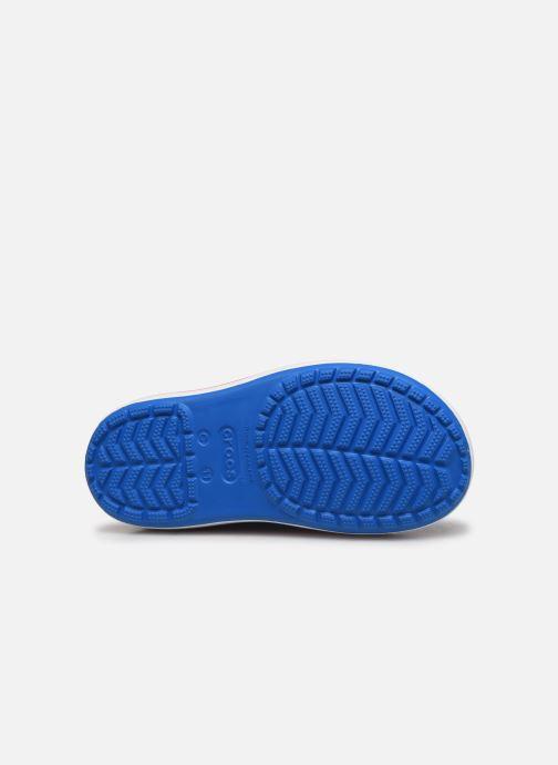 Bottes Crocs Crocband Rain Boot K Bleu vue haut