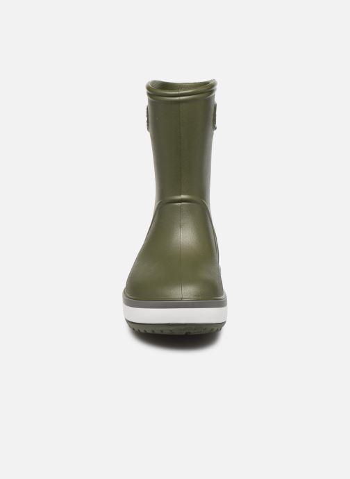 Bottes Crocs Crocband Rain Boot K Vert vue portées chaussures