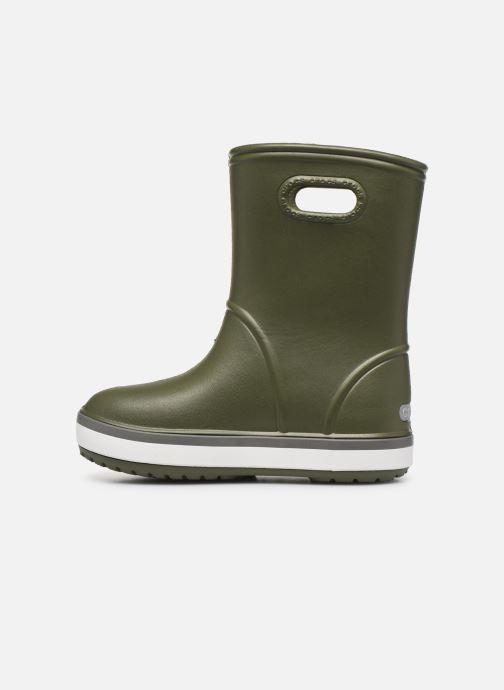 Bottes Crocs Crocband Rain Boot K Vert vue face