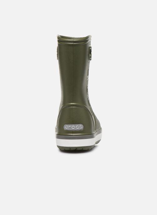 Bottes Crocs Crocband Rain Boot K Vert vue droite