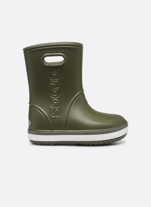 Bottes Crocs Crocband Rain Boot K Vert vue derrière