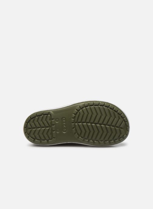 Bottes Crocs Crocband Rain Boot K Vert vue haut
