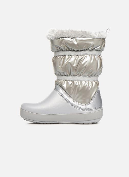 Chaussures de sport Crocs CB LodgePoint Metallic Boot G Argent vue face