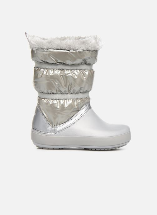 Chaussures de sport Crocs CB LodgePoint Metallic Boot G Argent vue derrière