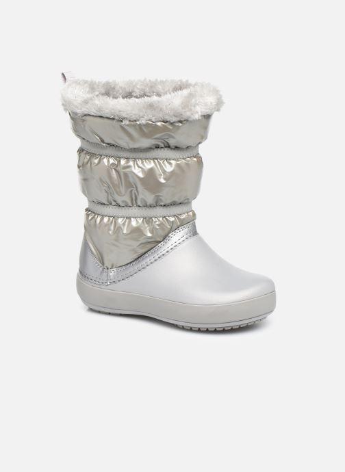 Chaussures de sport Crocs CB LodgePoint Metallic Boot G Argent vue détail/paire
