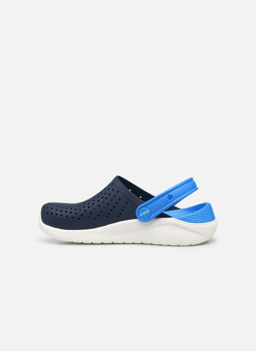 Sandales et nu-pieds Crocs LiteRide Clog K Bleu vue face