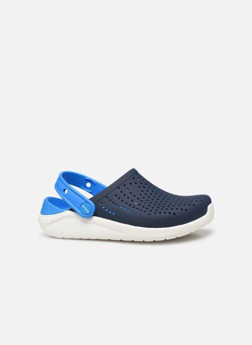 Sandales et nu-pieds Crocs LiteRide Clog K Bleu vue derrière