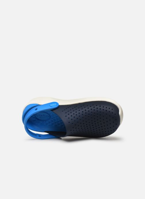 Sandals Crocs LiteRide Clog K Blue view from the left