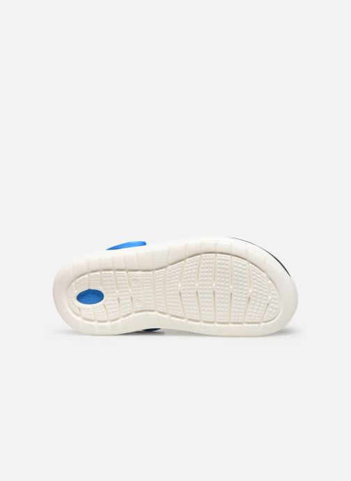 Sandales et nu-pieds Crocs LiteRide Clog K Bleu vue haut