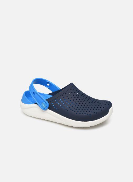 Sandaler Crocs LiteRide Clog K Blå detaljerad bild på paret
