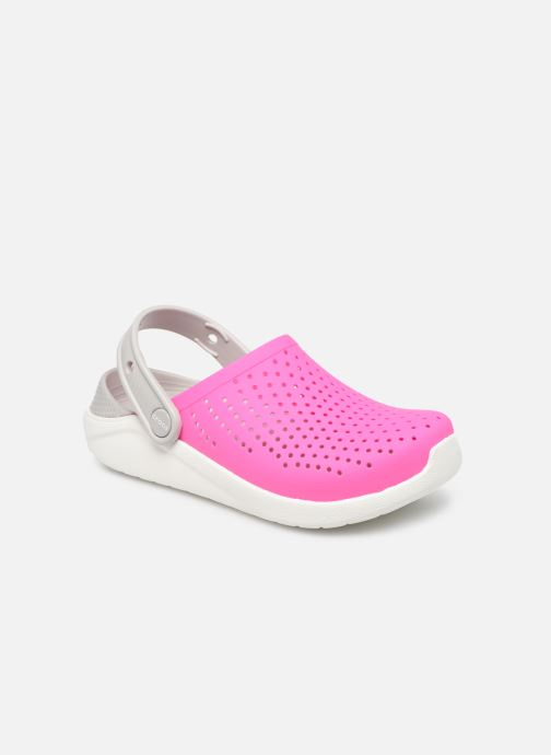 Sandalias Crocs LiteRide Clog K Rosa vista de detalle / par
