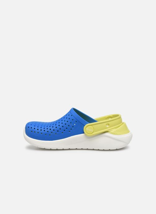 Sandali e scarpe aperte Crocs LiteRide Clog K Azzurro immagine frontale