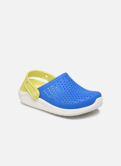Sandales et nu-pieds Crocs LiteRide Clog K Bleu vue détail/paire