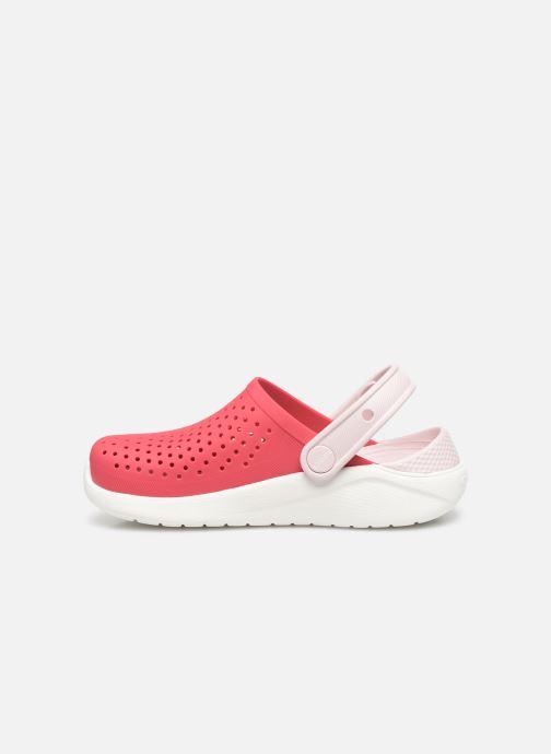 Sandali e scarpe aperte Crocs LiteRide Clog K Arancione immagine frontale