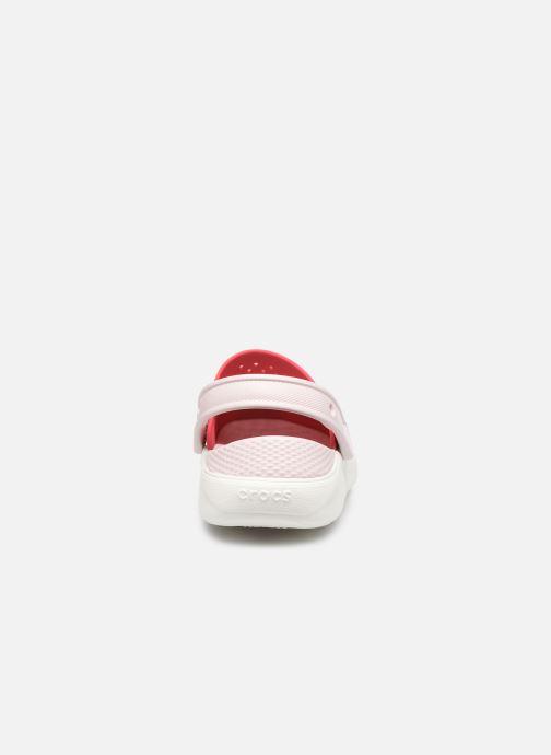 Sandali e scarpe aperte Crocs LiteRide Clog K Arancione immagine destra