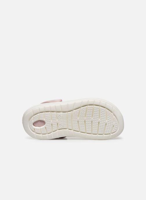 Sandali e scarpe aperte Crocs LiteRide Clog K Arancione immagine dall'alto