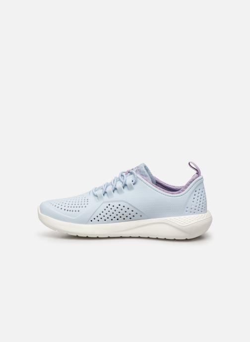 Sneaker Crocs LiteRide Pacer K blau ansicht von vorne
