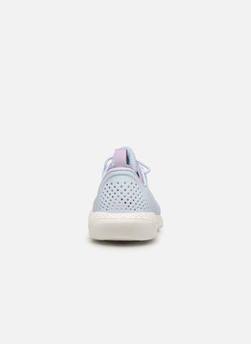 Sneaker Crocs LiteRide Pacer K blau ansicht von rechts