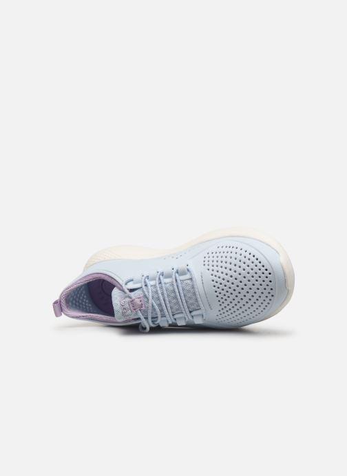 Baskets Crocs LiteRide Pacer K Bleu vue gauche