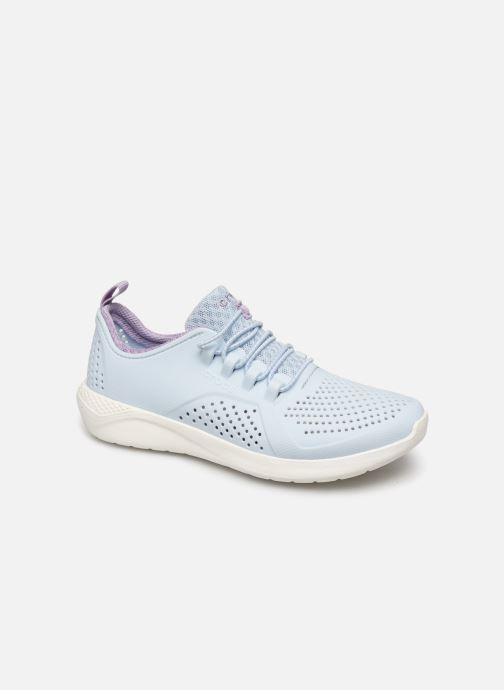 Baskets Crocs LiteRide Pacer K Bleu vue détail/paire