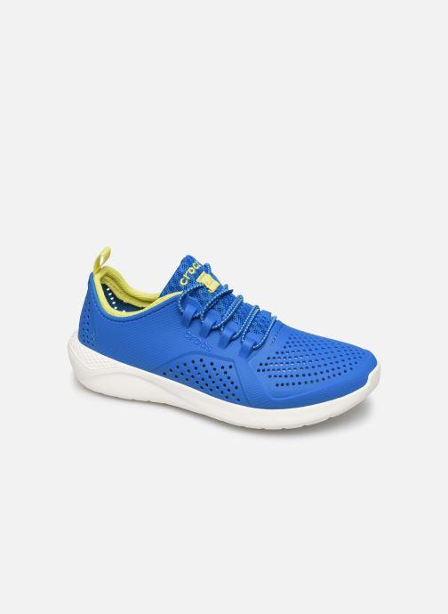Deportivas Crocs LiteRide Pacer K Azul vista de detalle / par