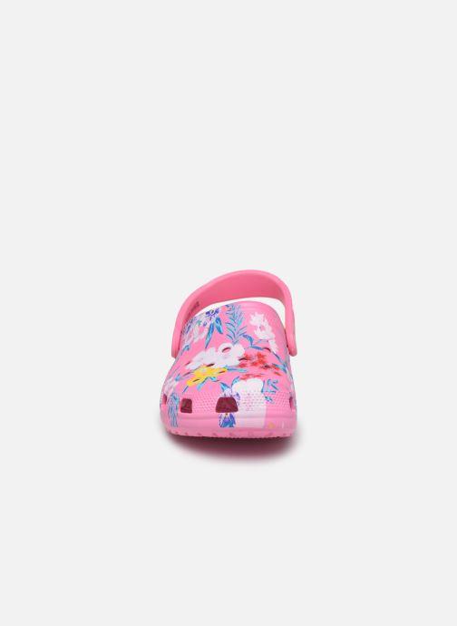 Mules et sabots Crocs Classic Printed Clog Multicolore vue portées chaussures