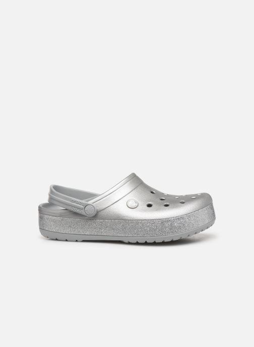 Clogs & Pantoletten Crocs Crocband Printed Clog grau ansicht von hinten