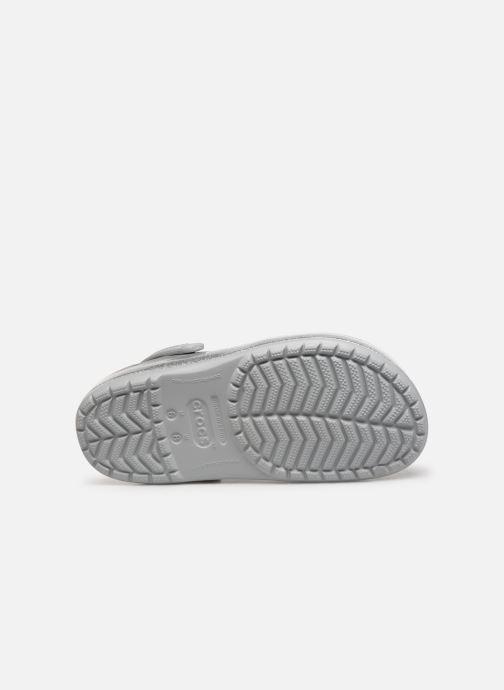 Clogs & Pantoletten Crocs Crocband Printed Clog grau ansicht von oben