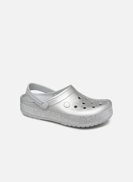 Clogs & Pantoletten Crocs Crocband Printed Clog grau detaillierte ansicht/modell