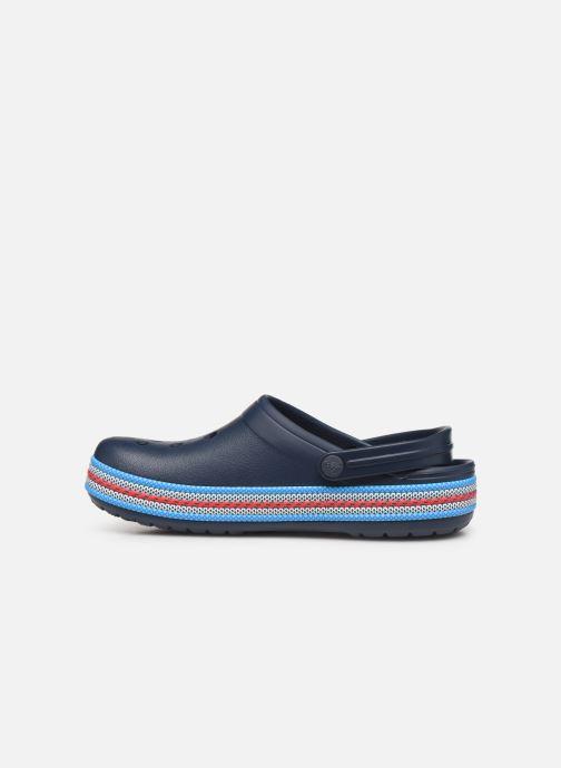 Wedges Crocs Crocband Sport Cord Clog Blauw voorkant