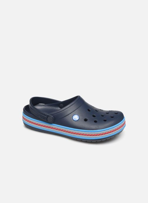 Wedges Crocs Crocband Sport Cord Clog Blauw detail