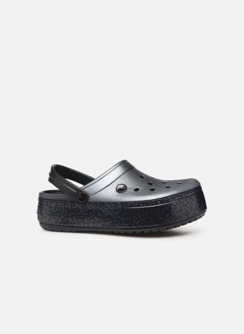 Clogs & Pantoletten Crocs Crocband Platform Metallic Clg schwarz ansicht von hinten