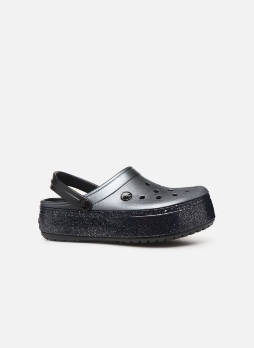 Wedges Crocs Crocband Platform Metallic Clg Zwart achterkant