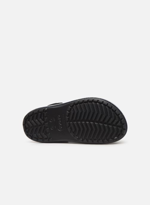 Wedges Crocs Crocband Platform Metallic Clg Zwart boven