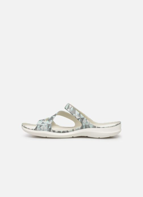 Sandalias Crocs Swiftwater Printed Sandal W Multicolor vista de frente