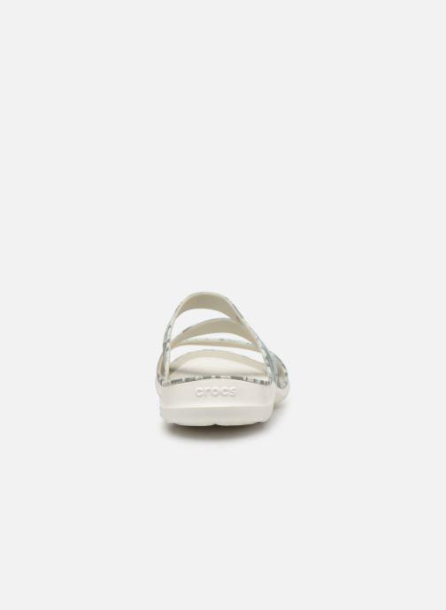 Sandales et nu-pieds Crocs Swiftwater Printed Sandal W Multicolore vue droite