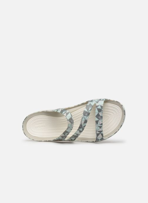 Sandalias Crocs Swiftwater Printed Sandal W Multicolor vista lateral izquierda