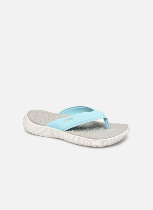 Tongs Crocs Crocs Reviva Flip W Bleu vue détail/paire
