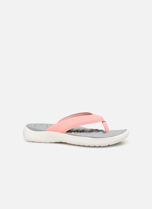 Zehensandalen Crocs Crocs Reviva Flip W rosa ansicht von hinten