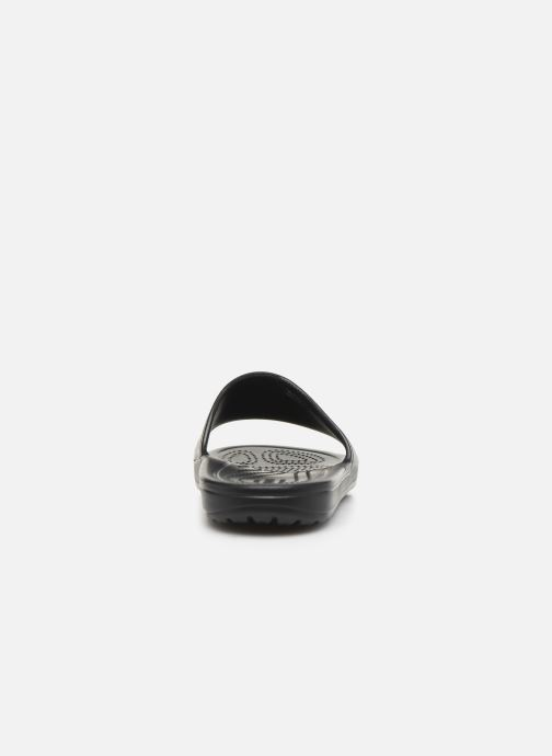 Mules & clogs Crocs Crocs Sloane Logo Mania Slide W Black view from the right