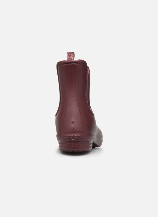 Ankle boots Crocs Crocs Freesail Mt Chelsea Bt W Burgundy view from the right