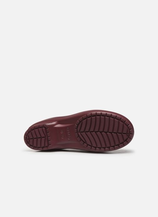Ankle boots Crocs Crocs Freesail Mt Chelsea Bt W Burgundy view from above
