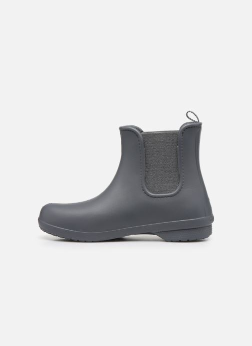 Bottines et boots Crocs Crocs Freesail Mt Chelsea Bt W Gris vue face