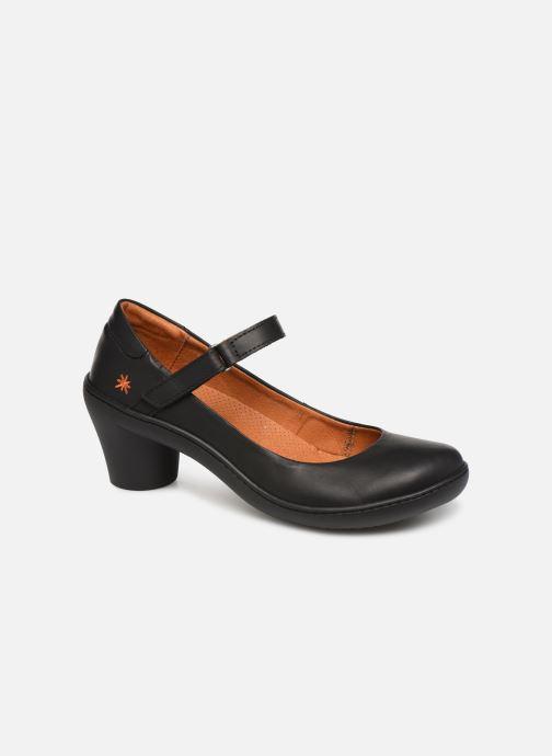 High heels Art ALFAMA 1440 Black detailed view/ Pair view