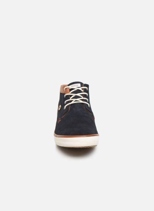 Baskets Faguo Wattle Suede C Bleu vue portées chaussures