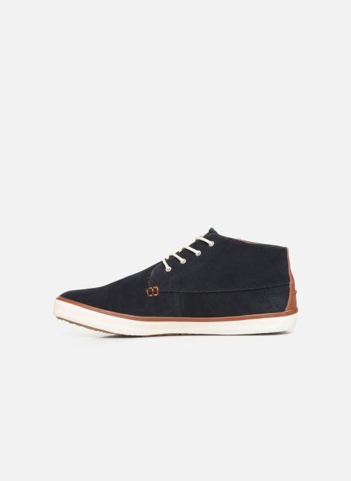 Sneaker Faguo Wattle Suede C blau ansicht von vorne